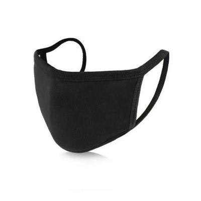 Máscara de tecido duplo com elástico